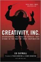 Creativity inc book image Amazon